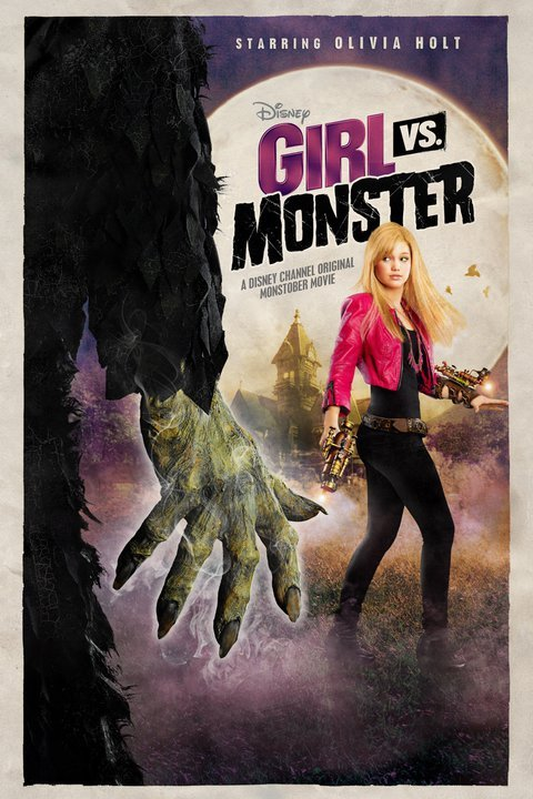 Girl Vs. Monster (2012) TV Movie Directed by Stuart Gillard Shown: poster art